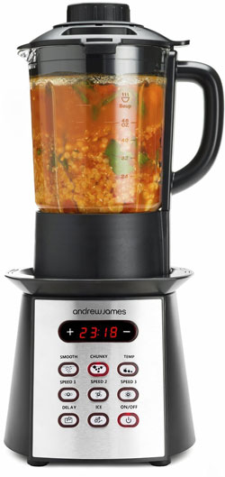 Andrew James Premium Black Soup Maker